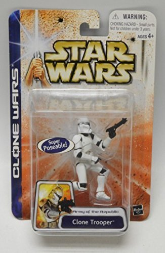 Star Wars Clone Wars Army of The Republic Clone Trooper Figura
