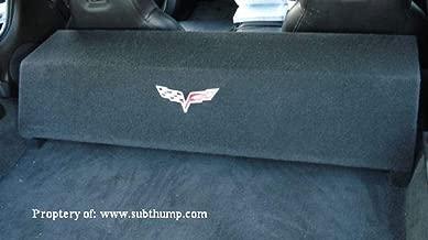 2005-2013 C6 Corvette Dual 10 Downfire Subwoofer Box