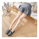 YUNGYE 1 Par Raya Medias Chicas Coreanas Japonés Kawaii Calcetines Del Muslo Casual De Alta Rodilla Pega Calcetines Largos For Mujer (Color : Apricot, Size : One size)