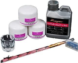 Shirazawa Pro Simply Nail Art Kits Acrylic Liquid Powder Pen Dappen Dish Tools Set