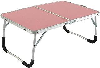 テーブル・チェアセット 表 折りたたみ ベッド トレイ ソファー 小さい 机 頑丈 アルミニウム 合金 ポータブル 軽量 PC ラップトップ キャンプ CJC (色 : T1)