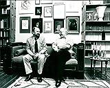 Norbert Blüm (CDU) und Rainer Eppelmann - Vintage Press