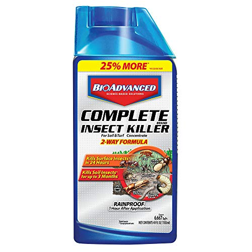 BioAdvanced 700270B Science-Based Solutions Yard Insecticide, 40 oz, Concentrate