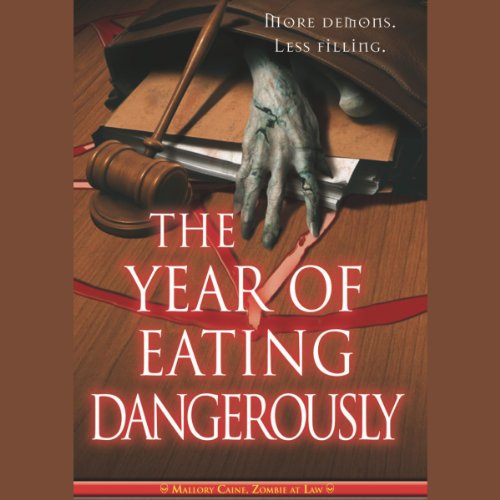 The Year of Eating Dangerously audiobook cover art