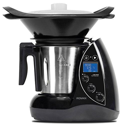 Cecotec Robot de Cocina Multifunción IronMix. Capacidad de 3,3l, Temperatura hasta 120ºC, 12...