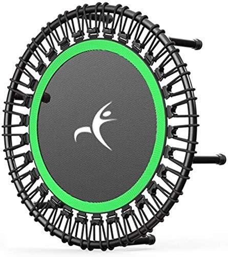 Suge Entrenamiento de la Aptitud Plegable Mini trampolín reboteador for Adultos o niños - Cubierta Fitness Trampolín, Deportes trampolín con cojín de la Seguridad, Carga máxima de 440 LB