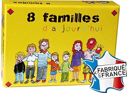 Jeux FK - 8 Familles D'Aujourd'hui - Jeu De Familles