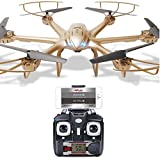 MJX X601H FPV RC Wifi Quadcopter Helicopter 2.4GHz 6 Channel 6 Axis Gyro Aircraft Drone Model Toy with 0.3MP Camera LED Light
