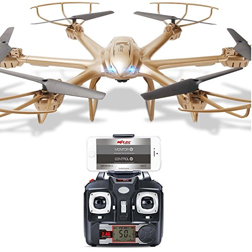 MJX X601H FPV RC Wifi Quadcopter Helicopter 2.4GHz 6 Channel 6 Axis...