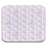 Hello Kitty Expressions Pattern Low Profile Thin Mouse Pad Mousepad