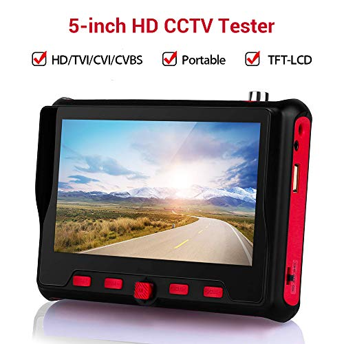 Elikliv Überwachungskamera-Tester 4 Zoll Tft-LCD Monitor CCTV Tester Monitor Tragbare Ahd Tvi Cvi Cvbs Tester UTC Osd Steuerung 12V Ausgang