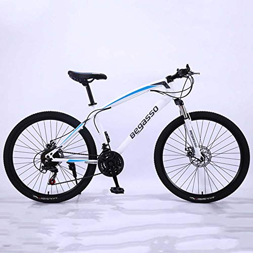 MW Mountainbike, Rennrad, Hard Tail Bike, 26/24 Zoll Bike, Variable Speed ​​Bike, Doppelstoßdämpfung Fahrrad,B,24 inch