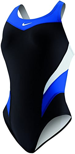 Nike Victory Couleur Block Power Back Tank Maillot de bain 20 Jeu Royal