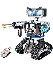 ZhanXiang Kit di Blocchi da Costruzione per Robot telecomandati, Grandi Giocattoli da Costruzione robotici STEM. per Adulti 10+ Anni Ragazzi Ragazze Regalo per Bambini (611pcs)