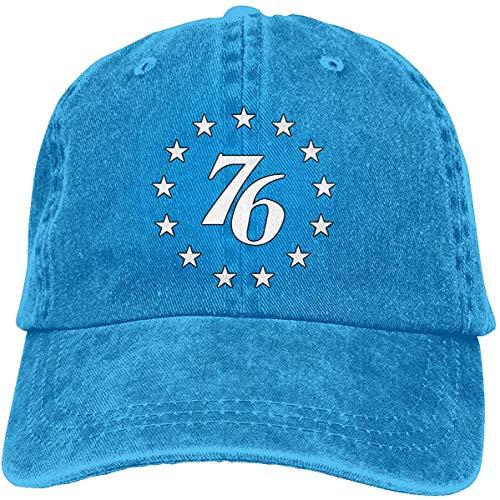 EJWERR 76 Stars Baseball-Cap Twill Adjustable Dad-Hat