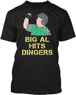 big al hits dingers t shirt
