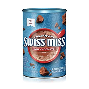 Swiss Miss Cocoa Milk Chocolate Canister 45.68 Ounce  Pack of 6