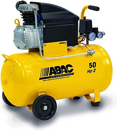COMPRESSORE D'ARIA ABAC MONTECARLO B20 BASILIN- 8 BAR HP2 LITRI 50- NEW ART.1129981009 ULTIMO MODELLO 2020 CODICE ORIGINALE ABAC