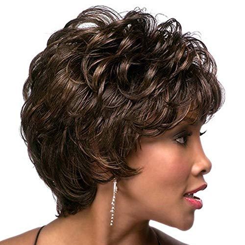 ZHANGYY Perruque de Cheveux Droite Droite Super résistante à la Chaleur de Style Bob pour Femmes Super Naturelles 12\