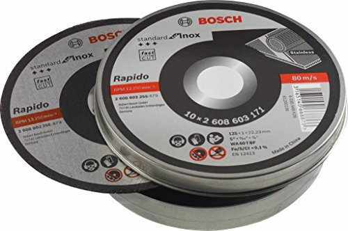 Bosch 2 608 603 255 - Disco corte recto Standard for