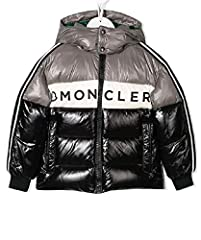 Down Fill Moncler Inscribed in Front Green inside Hood Zip Up