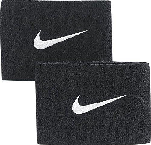 Nike Unisex's Guard Stay II Football Straps, Black/White, One size