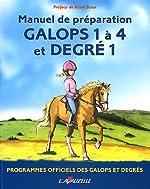 Galops 1 à 4 et degré 1 de Patrick Perreau