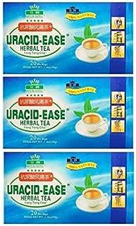 3 Boxes of Uracid-Ease Herbal Tea (20 Teabags)