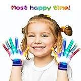 SoKy Cadeau de Noël Garçon de 3-7 Ans, Gants Lumineux pour Enfants Jouets Amusant pour Fille de 3-6 Ans Garcon Cadeau pour Fille...