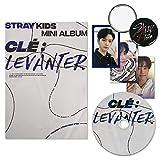 STRAY KIDS Mini Album - Clé : Levanter [ CLE ver. ] CD + Photobook + QR Photocards + FREE GIFT