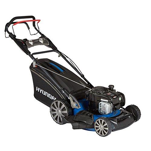 HYUNDAI Benzin-Rasenmäher LM4601G B&S (Selbst-Antrieb, Schnittbreite 46cm, 1,9 kW (2,6 PS) Briggs & Stratton Motor, 65L Fangkorb, Mulchfunktion,...