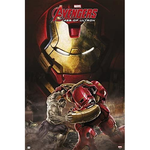 Erik Publishers Group GPE 4881 - Marvel Avengers Poster Age of Ultron Hulkbuster, 61 x 91.5 cm