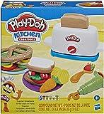 Play-Doh Kitchen Creations Toaster Spielset mit 6 Play-Doh Farben, 2020 Ausgabe