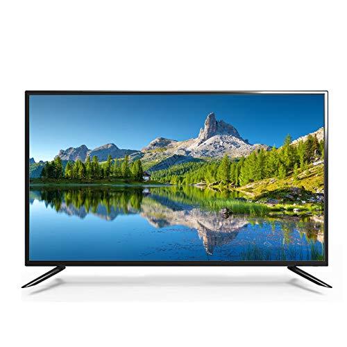 Household items Pantalla Ancha LED Smart TV de 46 Pulgadas, TV LCD de Alta definición WiFi Inteligente en Red, Diseño liviano y Delgado de TV ecológica de Baja Potencia, Entrada VGA/HDMI/USB