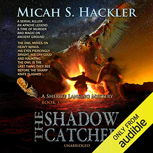 The Shadow Catcher audiobook cover art
