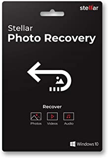 Stellar Photo Recovery Software | For Windows | Standard | Recover Lost or Deleted Photos, Audios, Videos | 1 PC 1 Yr | Activation Key Card