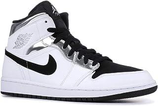 8395635137a Nike Air Jordan 1 I Mid Alternate Think 16 Black Silver 554724-121 US Size