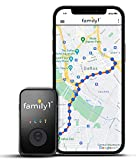Family1st 4G Real-Time GPS Trackers for Vehicles, Bikes, Teens, Kids, Seniors, Pets, Strollers and Assets. Long Lasting Li-Po Battery. Monthly fee Required.(Magnetic Case not Included)