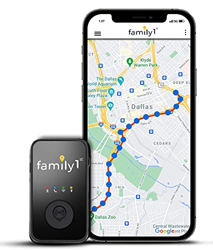 Family1st 4G Real-Time GPS Trackers for Vehicles,...