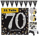 Feste Feiern, decorazioni per festa di compleanno, per 70...