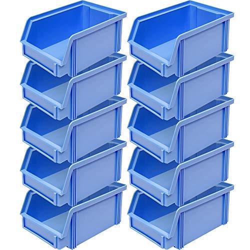10x Sichtlagerbehälter