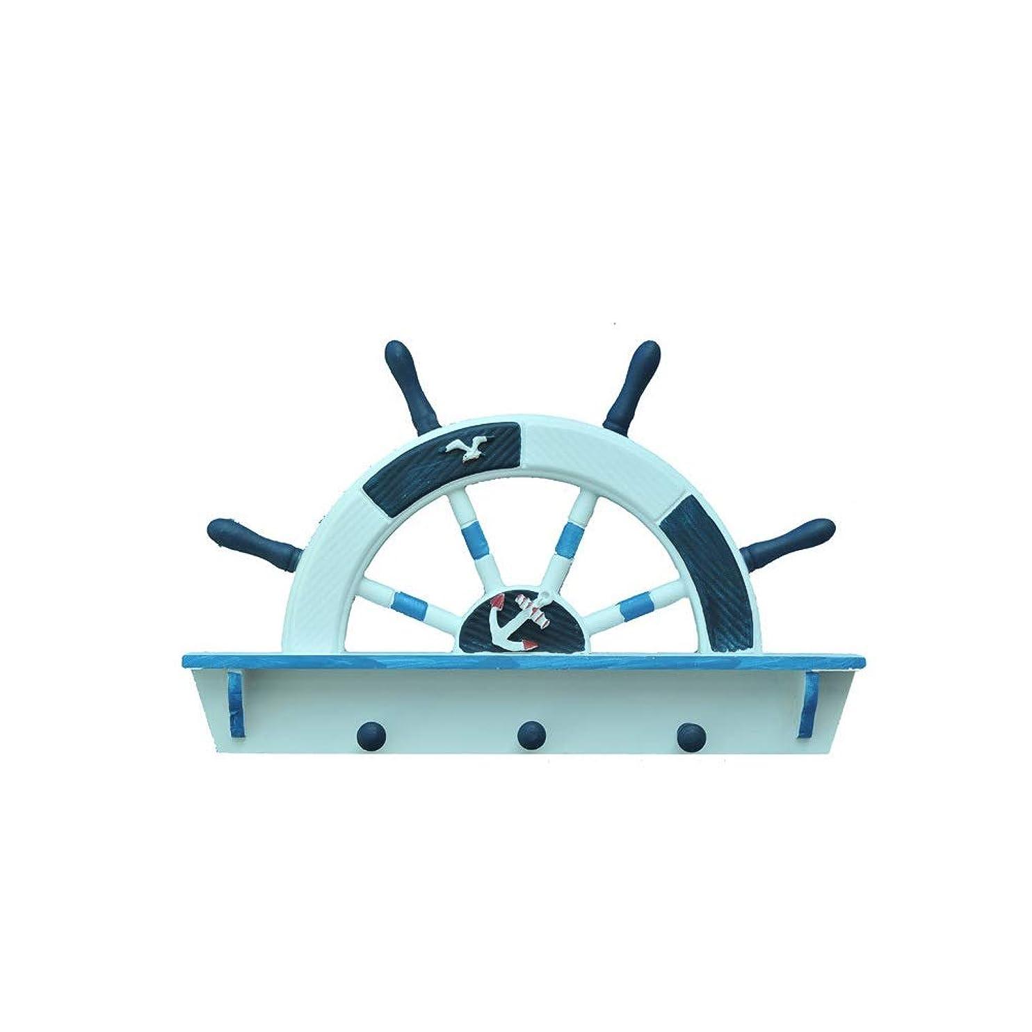 準備する二何もないGY 地中海洋風店木製フックアートドアフックフックホームデコレーションフック装飾コートフック、から選択する4つのスタイル フック (Style : B)