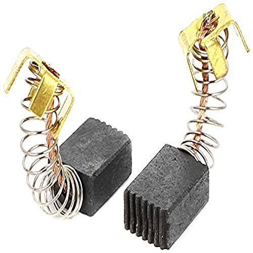 Gaoominy 2 Pcs 5mm x 5mm x 13mm Motor Carbon Brushes for Power Tool