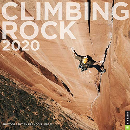 CLIMBING ROCK 2020 WALL CAL