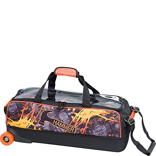 HAMMER Bowling-Produkte Dye Sub Triple Fire Bowling Bag Multi
