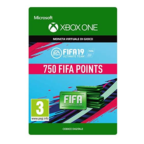 FIFA 19: Ultimate Team Fifa Points 750   Xbox One - Codice download