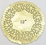 PEPPERLONELY 12 Inch Gold Round Lancaster...