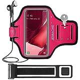 Galaxy Note 20, 20 Ultra Running Brazalete, JEMACHE Deportivo Correr Móvil Brazo Banda Funda para Samsung Galaxy Note 20, 20 Ultra (Rosa)