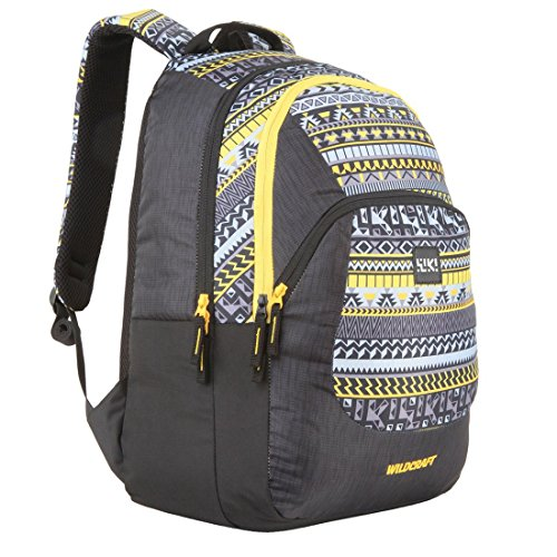 Wildcraft Polyester 31 Ltrs Yellow School Backpack (Wiki 3 Aztec...