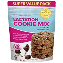 Lactation Cookies Mix - Oatmeal Chocolate Chip Breastfeeding Cookie Supplement Support for Breast Milk Supply Increase - 1.5 lb
